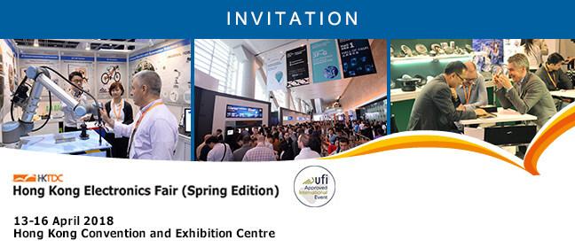 HKTDC Hong Kong Electronics Fair 2018 (Spring Edition)