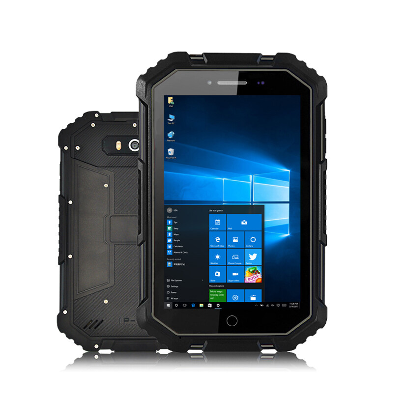 Kcosit X16 Rugged Windows 10 Home Tablet Pc Waterproof Car Computer Intel Z8350 7 Hd 1200x1920 2gb Ram 4g Lte Gps 8000mah