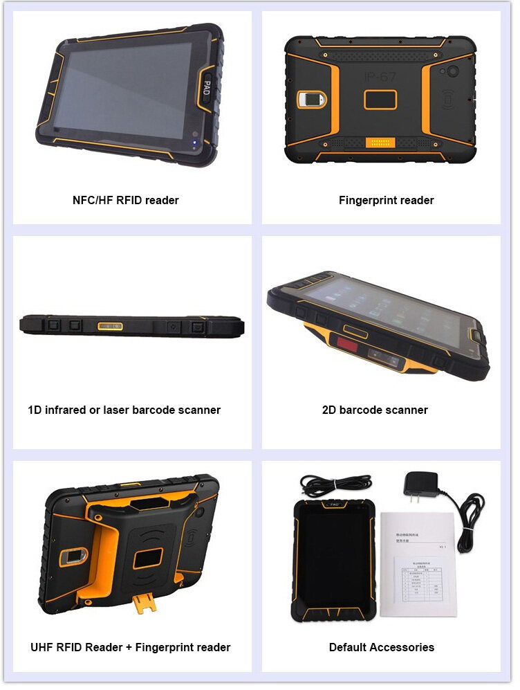 China Rugged Waterproof Tablet PC 7
