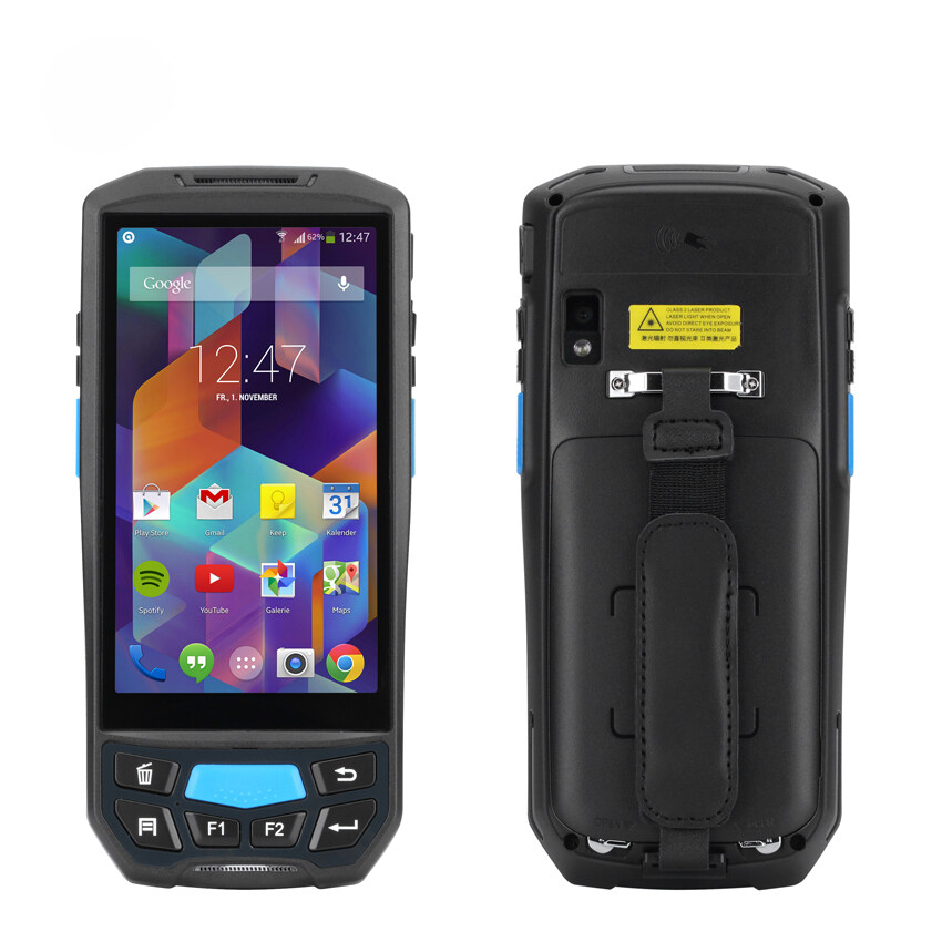 Handheld PDA Terminal Kcosit K9000 QR 1D 2D Laser Barcode Scanner Android  Data Collector Fingerprint Reader Waterproof NFC UHF