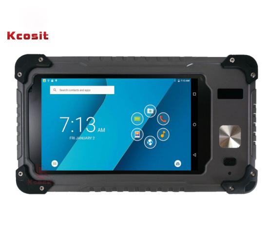 Kcosit S70v2 Rugged Waterproof Android Tablet Pc Phone Fingerprint Quad Core 7 Inch 3gb Ram Gps