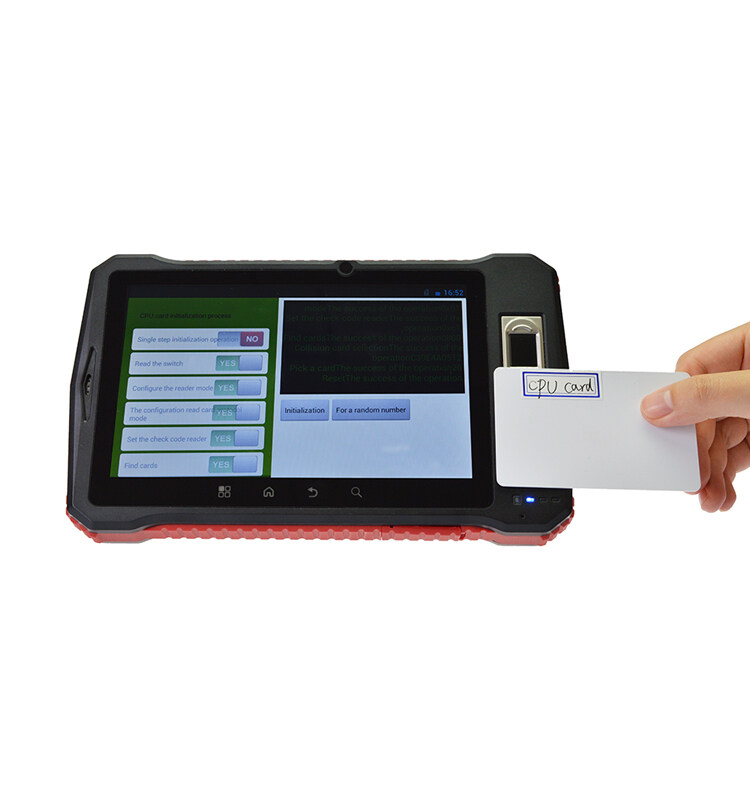 Fingerprint Reader Tablet Pcandroid Rugged With