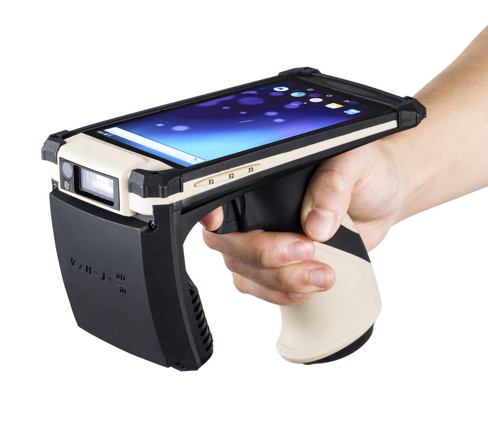 Kcosit-50 UHF RFID Reader And 2D Barcode Scanner Android