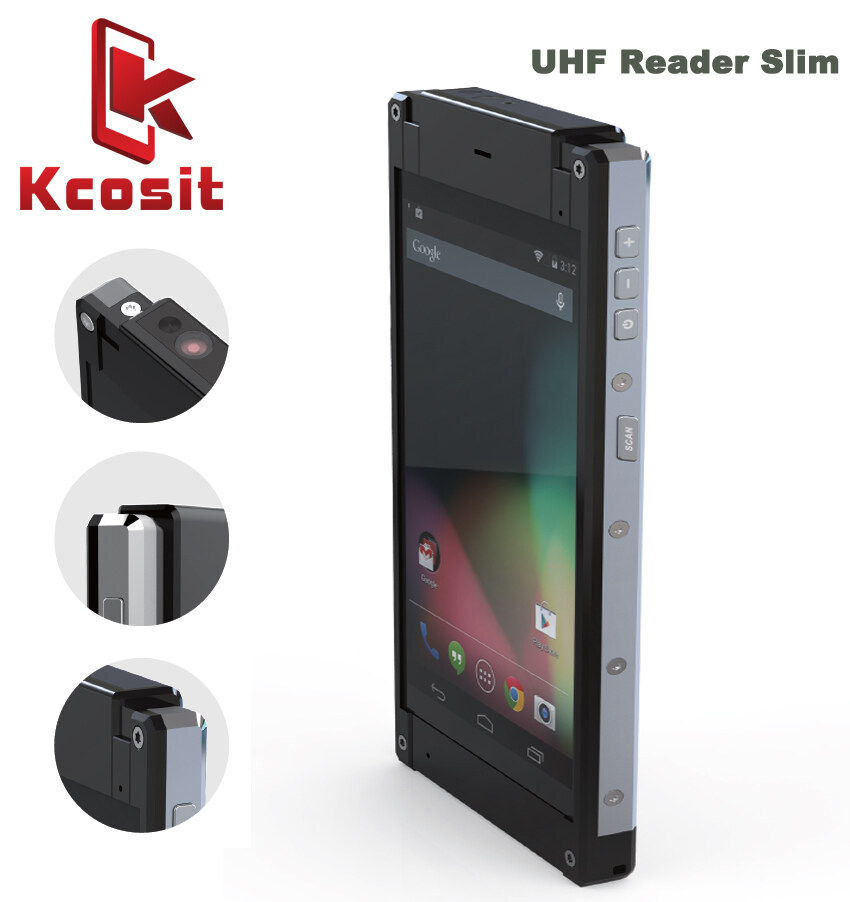 Kcosit X20 Android Barcode Scanner QR 1D 2D Handheld UHF RFID Reader  Terminal Mobile Data Collector Rugged slim PDA
