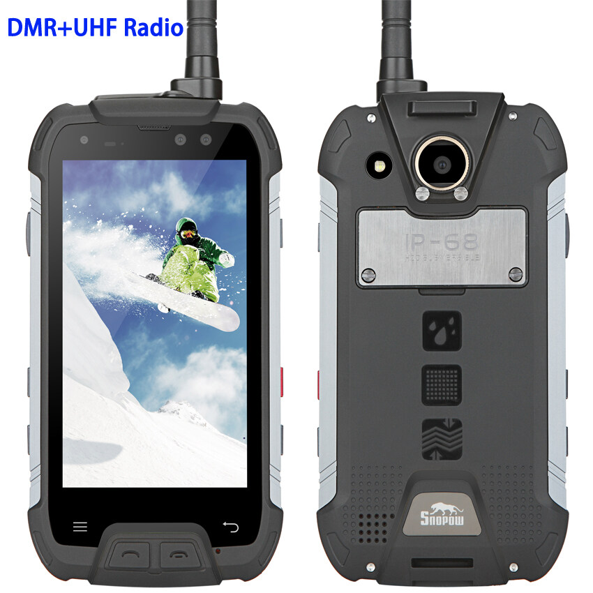 promo code 1468c edd60 China M10w IP68 Rugged Waterproof Mobile Phone DMR Digital Analog UHF PTT  Radio MTK6757 4GB RAM 6500mAH Android 7.0 Smartphone