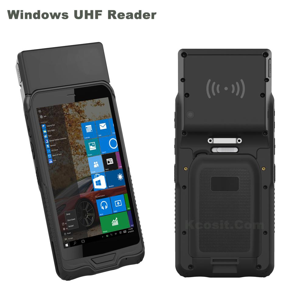 Original K62uh Windows Uhf Rfid Reader Rugged Tablet Mini Pc Phone Pda Waterproof Mobile Gps 2d Laser Barcode Scanner