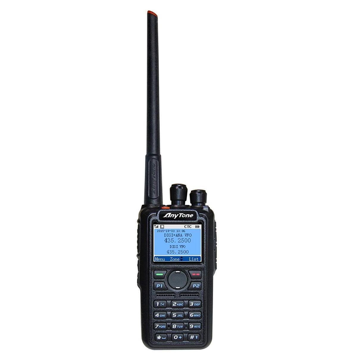 Anytone AT-D868UV GPS 2m 70cm Dual Band DMR Radio