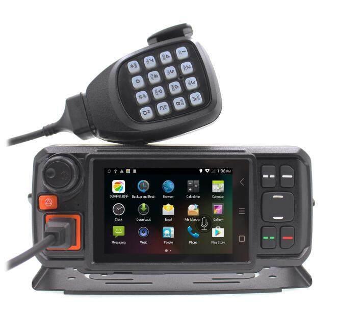 4G/LTE PoC - Senhaix N60 Android Vehicle Phone Zello Real PTT Network Mobile Radio