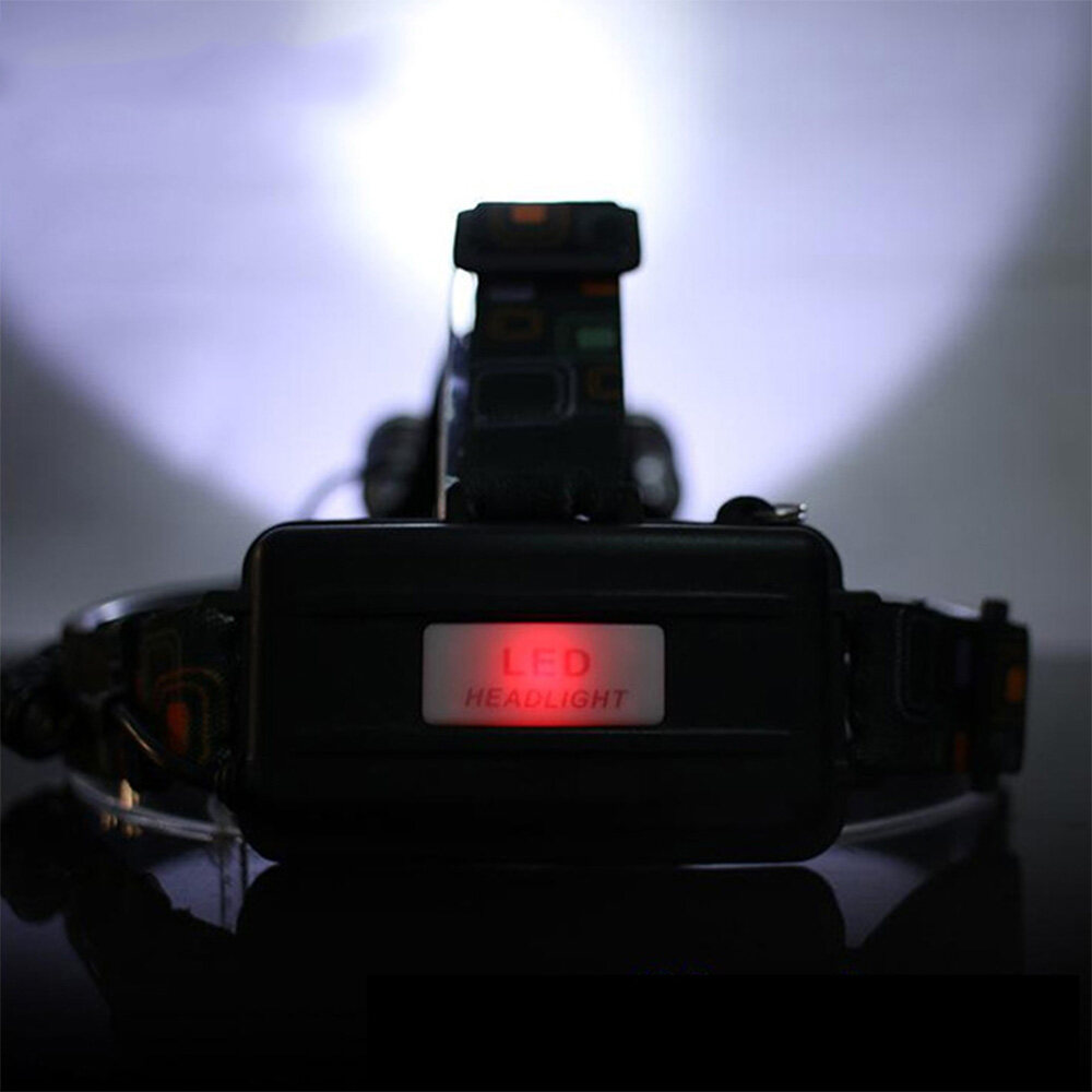 CHUANGLIANGZHE LED Headlamp 10000 Lumens 3 * T6 Rechargeable Flashlight Headlight 18650 Battery Hunting Fishing Light 3