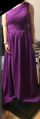 I ordered a size up and it fit great, a little long for me but most likely because I ordered a size upMaterial seems goodColour is vibrantHard to see but back is a corsetOverall seems to be a great dress!