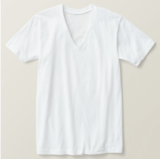 c4cce9aea ... Custom Men's American Apparel Fine Jersey V-neck T-Shirt (; (f) ...