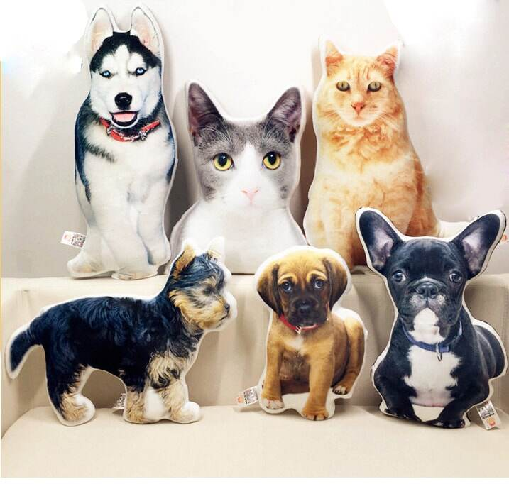 a5fd4bd5ac095 (a) Personalized Pet-shaped Pillow, 100% Handmade & Made to Order