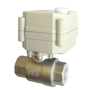 DN15 Electric motorized ball valve used for chemical
