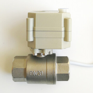 DN20 DRINKING WATER electric automated valve DC5V