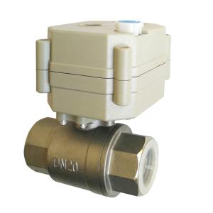 dn20 SS304 water valve dc12v