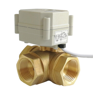 3-WAY ELECTRIC BALL VALVE
