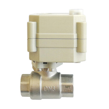 DN8 Electric motorized ball valve used for water treatment