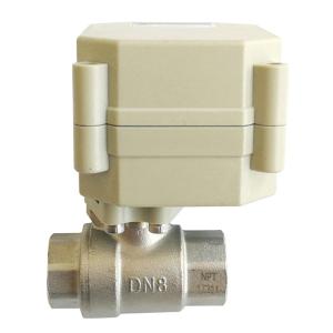 DN8 IP67 electric valve DC12V