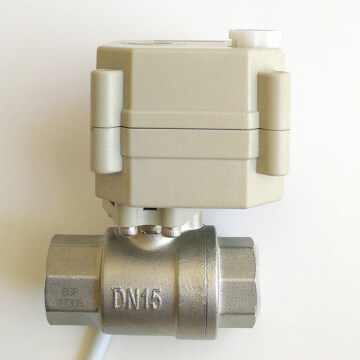 1/2 INCH Miniature electric ball valve
