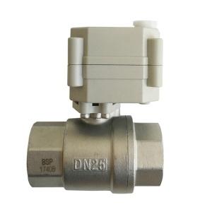 Electric motorized valve