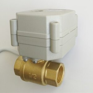 1/2 inch electric proportional ball valve 0-10V