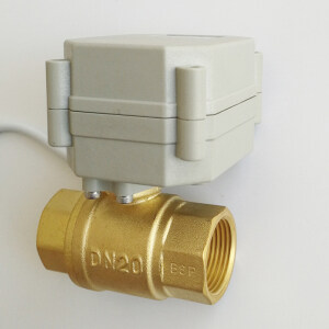 dn20 electric 2 way proportional ball valve