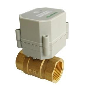 DN25 full bore electric timer valve 110V