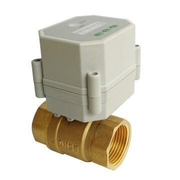 DN25 full bore electric timer valve 110V