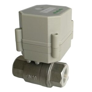 3/4 inch stainless 2 way Electric timer valve