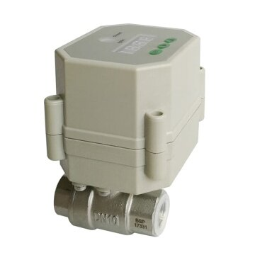 3/8 inch Motorized water valve with timer in actuator