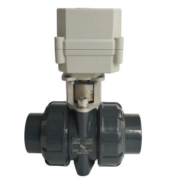 "1-1/4"" UPVC material Electric water valve with 10Nm electric valve actuator on/off time 15 seconds, DN32 plastic valve with BSP or NPT thread, 24V electric motor operated water valve with used for swimming pool 1-1/4"" UPVC material Electric water valve with 10Nm electric valve actuator electric valve UPVC,DC12V ELECTRIC VALVE,DC24V ELECTRIC VALVE,ELECTRIC VLVE UPVC,Motorized electric valve,UPVC electric valve,DN32 electric valve PLASTIC,11/4 inch PVC valve,11/4"" plastic electric valve"