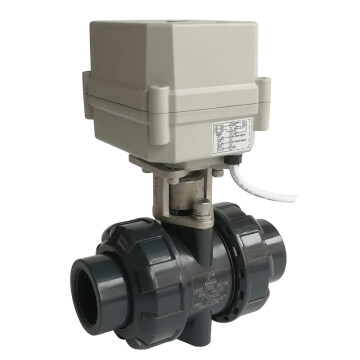 DN25 PVC electric valve