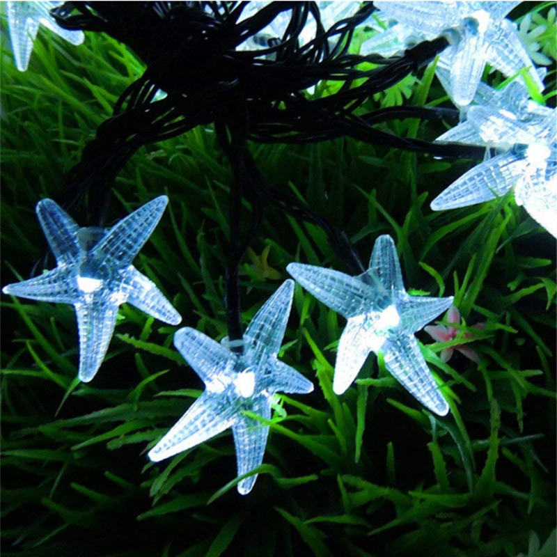 Starfish Solar Lights,Solar outdoor lights,Apply to your gardens,terraces,lawns and porches