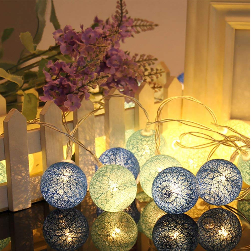 Hollow Ball Romantic,Indoor Fairy String Lights,Holiday Decor lights,Decorative for Bedroom Party (Multicolor battery box)Hollow Ball Romantic,Holiday Decor lights,Indoor Fairy String Lights,Decorative for Bedroom Party