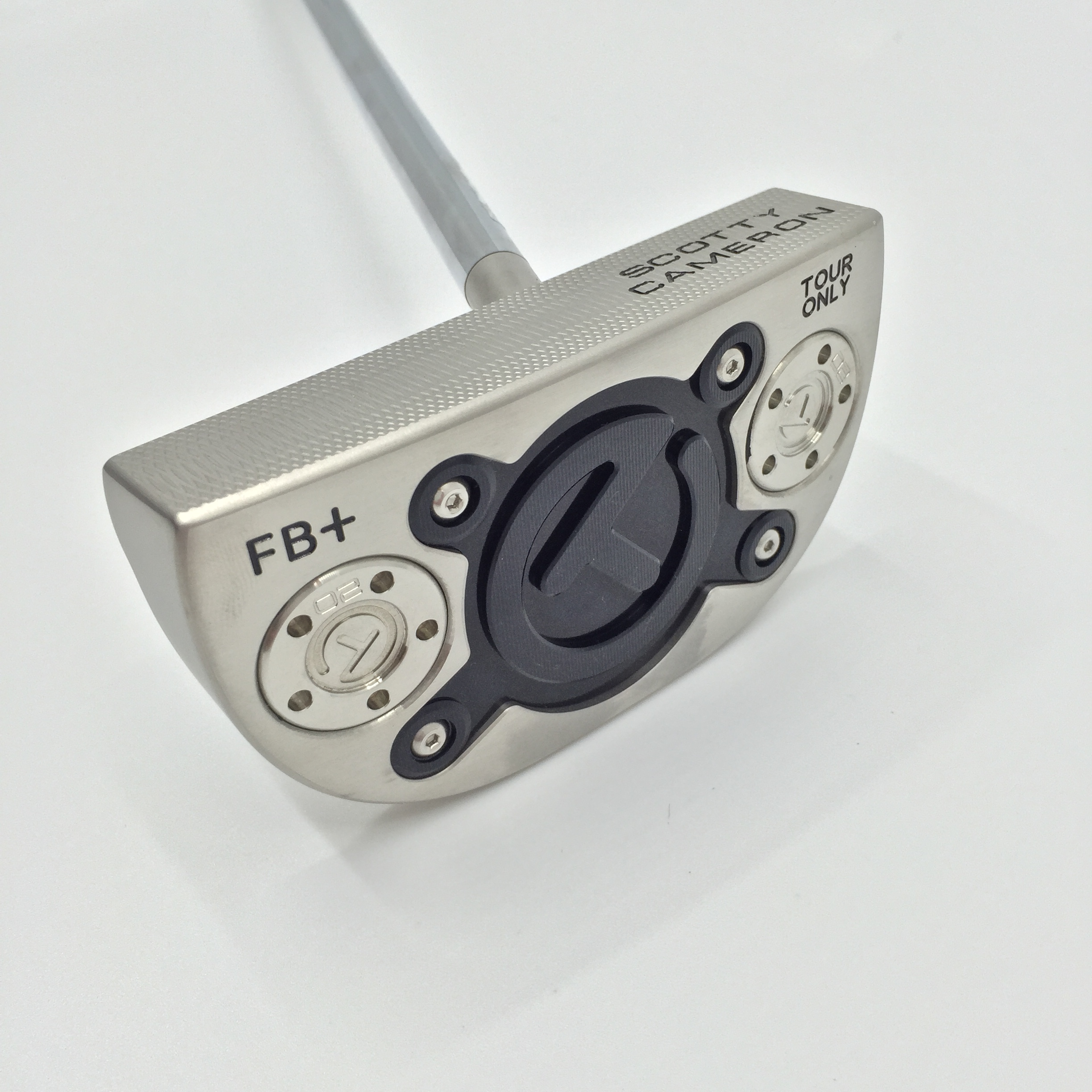 Scotty Cameron Fastback + Circle T Mallet Center Shaft Putter