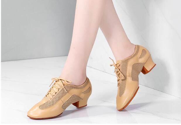 PVC leather Women Ballroom Dance Shoes