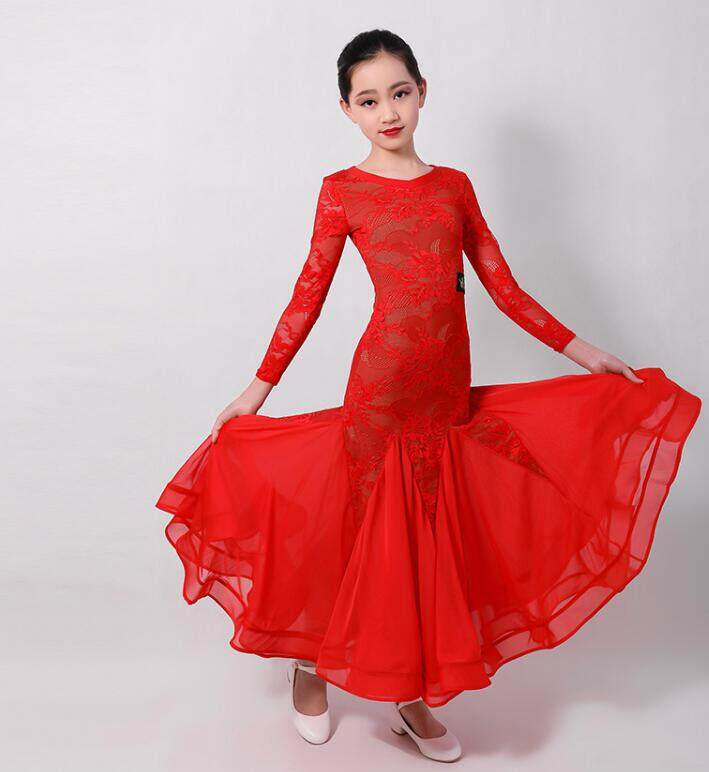 2019 NEW Ballroom Competition Dance Dress Modern Waltz Standard Dress S7007