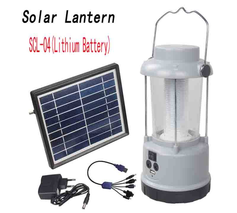 Solar hanging Lantern  with Lithium battery SCL-04 0