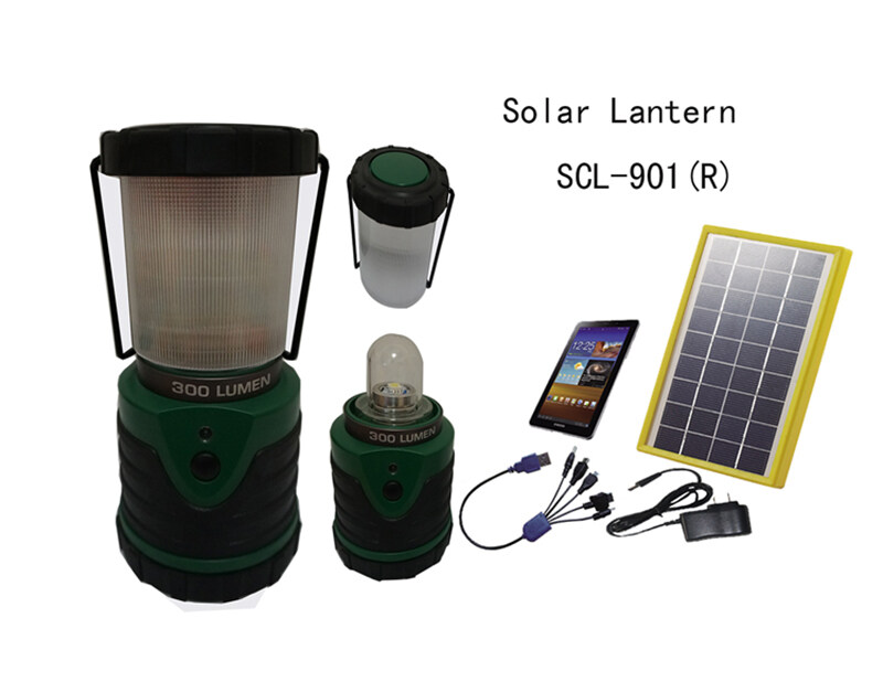 Solar Hanging  Lantern SCL-901R with Lithium battery 0