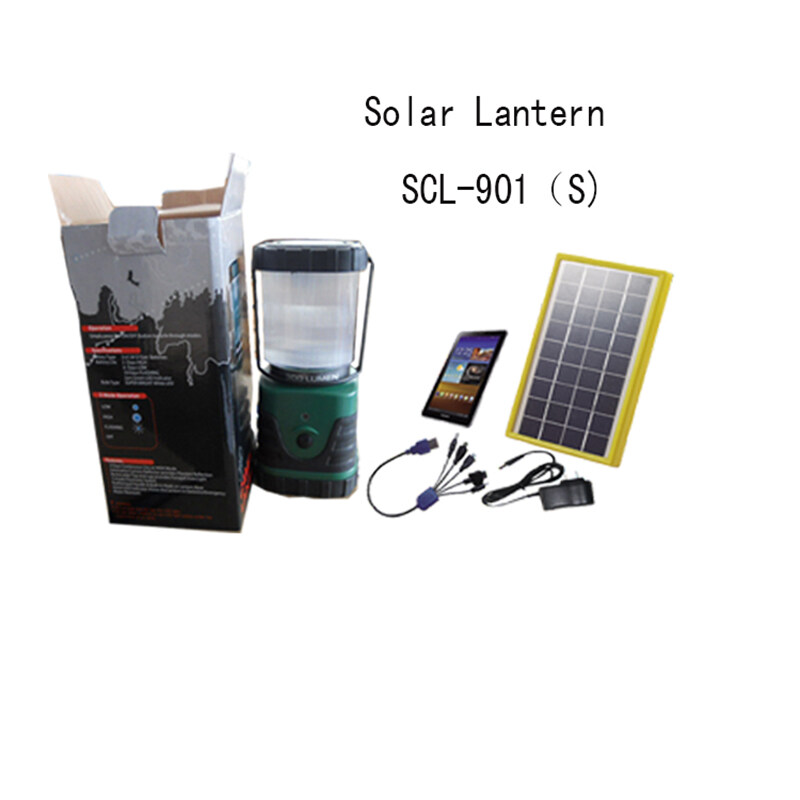 Outdoor Solar Lanterns SCL-901S with Lithium battery 1