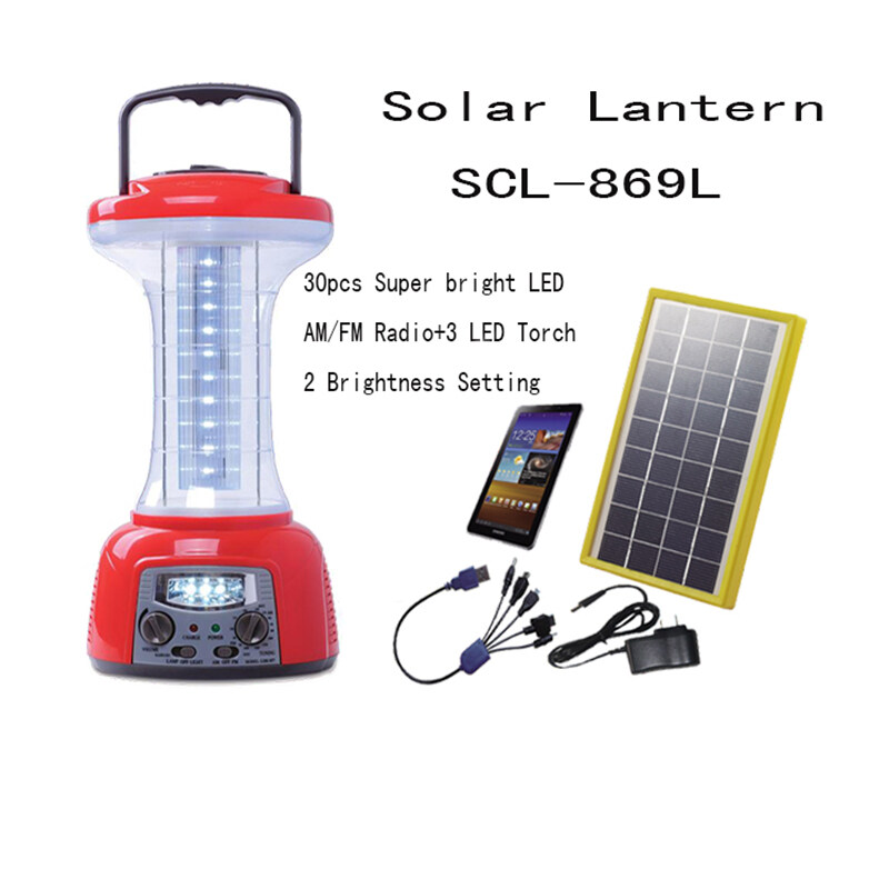 Outdoor Solar Lanterns  SCL-869L 0