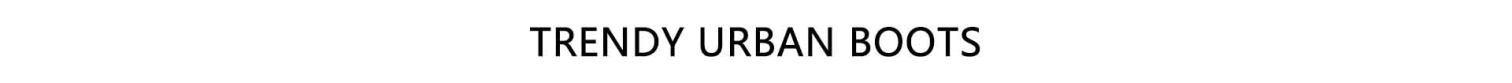 Trendy Urban Online Boots Boutiques