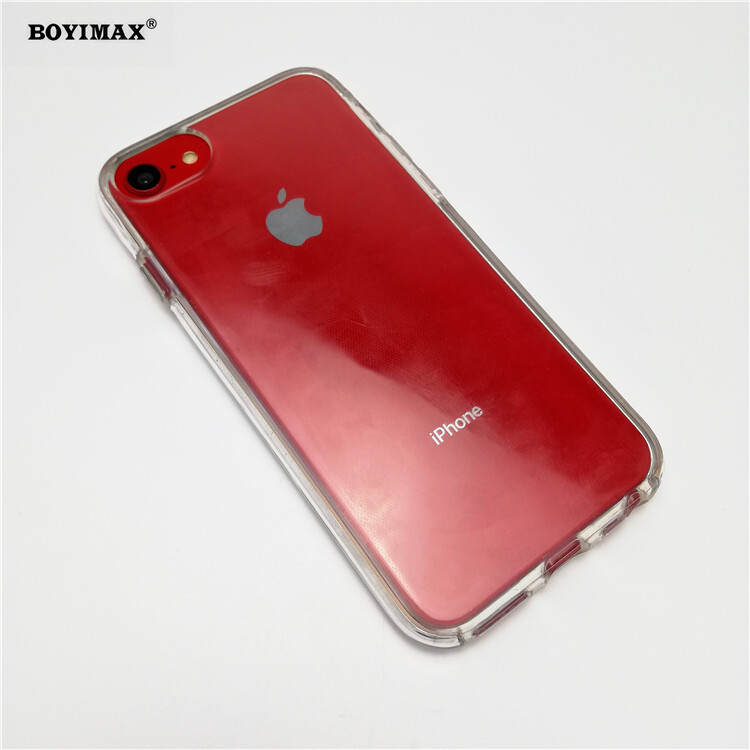 Crystal clear TPU+PC mobile phone case full protection cover-360N03  5