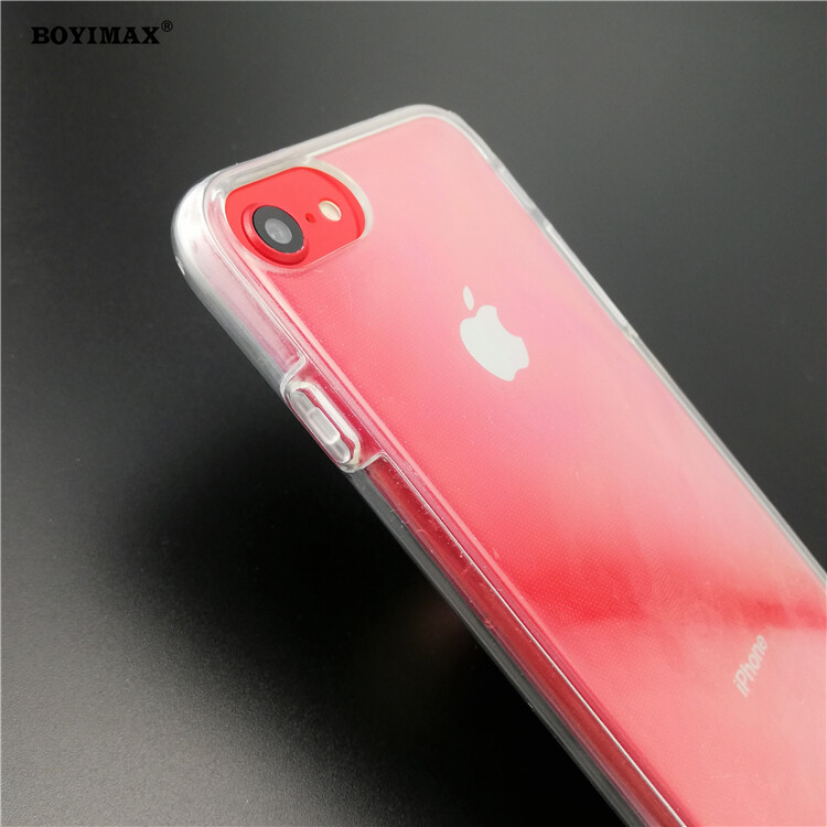 Crystal clear TPU+PC mobile phone case full protection cover-360N03  6