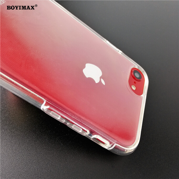Crystal clear TPU+PC mobile phone case full protection cover-360N03  8