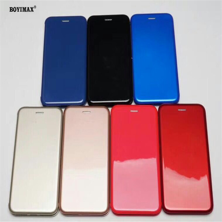 Full protective phone case glossy UV surface flip cover supplier-360N09 0