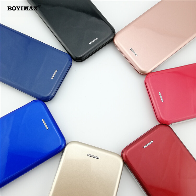 Full protective phone case glossy UV surface flip cover supplier-360N09 1
