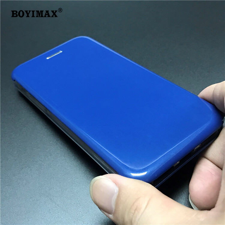 Full protective phone case glossy UV surface flip cover supplier-360N09 3