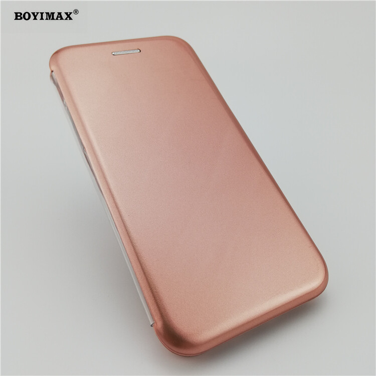 Full protective phone case glossy UV surface flip cover supplier-360N09 18