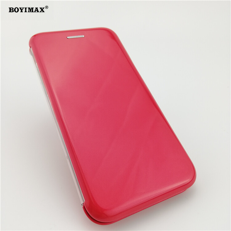 Full protective phone case glossy UV surface flip cover supplier-360N09 19